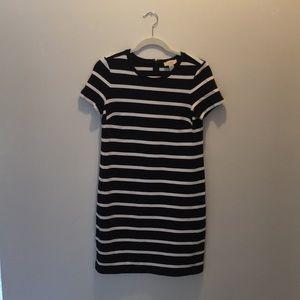 LOFT Dresses - Loft striped T-shirt dress